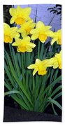 Vancouver Daffodils Beach Towel
