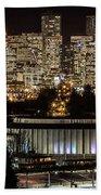 Vancouver Lights Beach Towel