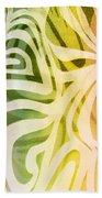 Vanilla Icecream Beach Towel