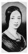 Varina Howell Davis (1826-1906) Beach Towel