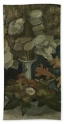 Vase With Honesty Nuenen, Autumn - Winter 1884 Vincent Van Gogh 1853  1890 Beach Towel