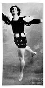 Vaslav Nijinsky, Ballet Dancer Beach Towel