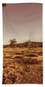 Vast Pastoral Australian Countryside  Beach Towel