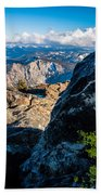Vastly Majestic High Sierras Beach Towel