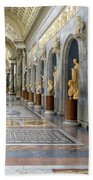 Vatican Museums Interiors Beach Towel by Stefano Senise