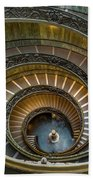Vatican Staircase Beach Towel