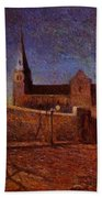 Vaugirard Church 1879 Beach Towel