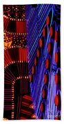 Vegas Lights Beach Towel