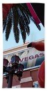 Vegas Beach Towel
