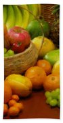 Vegetables And Fruits  Beach Towel