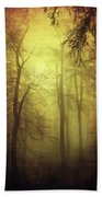 Veiled Trees Beach Towel
