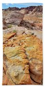 Vein Of Gold In Valley Of Fire State Park Beach Towel