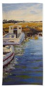 Veldrift Boats Beach Towel