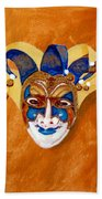 Venetian Mask 2 Beach Towel