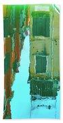 Venetian Mirror - Venice In Water Reflections Beach Towel