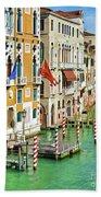 Venetian Palaces Beach Sheet
