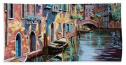 Venezia In Rosa Beach Towel