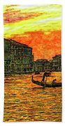 Venice Eventide Beach Towel