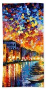 Venice - Grand Canal Beach Sheet