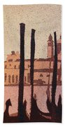 Venice Morning Beach Towel