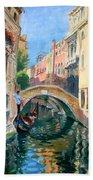 Venice Ponte Widmann Beach Towel
