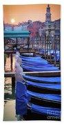 Venice Sunrise Beach Towel