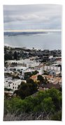 Ventura Coast Skyline Beach Towel