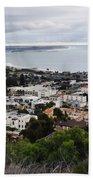 Ventura Coast Skyline Beach Towel