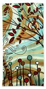 Venturing Out By Madart Beach Towel