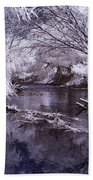 Verde Spring Reflections Beach Towel