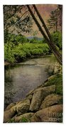 Vermont And Rural Beauty Beach Towel