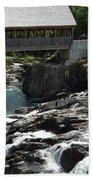 Vermont Covered Bridge Beach Towel