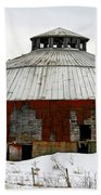 Vermont Round Barn Beach Towel