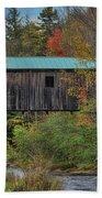 Vermont Rural Autumn Beauty Beach Towel