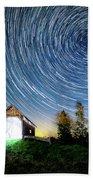 Vermont Starry Night Beach Towel