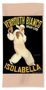 Vermouth Bianco Beach Towel