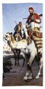 Vernet: Arabs, 1843 Beach Towel