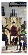 Versace Mansion South Beach Beach Towel
