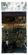 Versailles Fountain Beach Towel