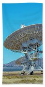 Very Large Array Side View Beach Towel