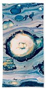 Occator On Ceres In My Eyes Beach Towel