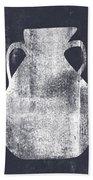 Vessel 5- Art By Linda Woods Beach Towel