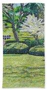 Veterans Park Blossoms Beach Towel
