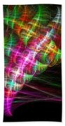 Vibrant Energy Swirls Beach Towel