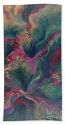 Vibrant Leaves Beach Towel