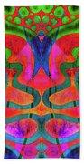 Vibrant Swirls Beach Towel