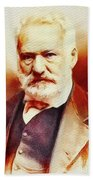Victor Hugo, Literary Legend Beach Towel