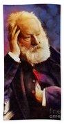 Victor Hugo, Literary Legend Beach Towel