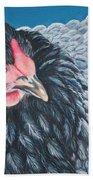 Victoria, Lavender Cochin Chicken Beach Towel