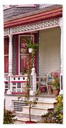 Victorian - Belvidere Nj - The Beauty Of Spring  Beach Towel by Mike Savad